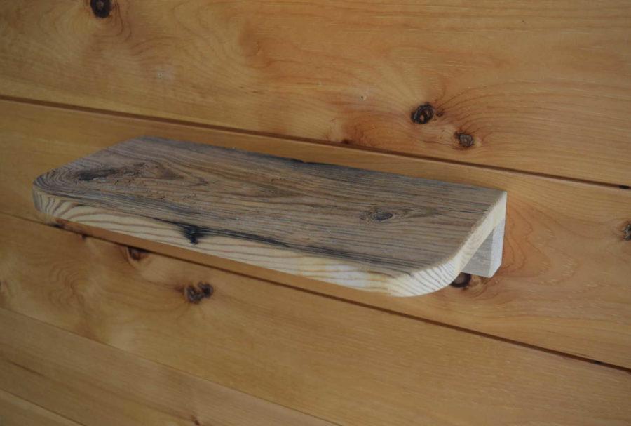 Steckboard in Altholz